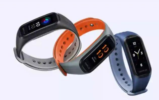 OnePlus推出了第一款带有SpO2传感器,心率追踪器等的健身手环