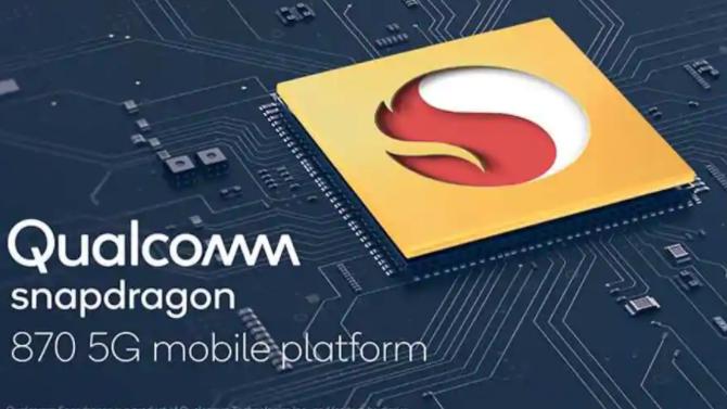 高通发布了Snapdragon 870 5G芯片组
