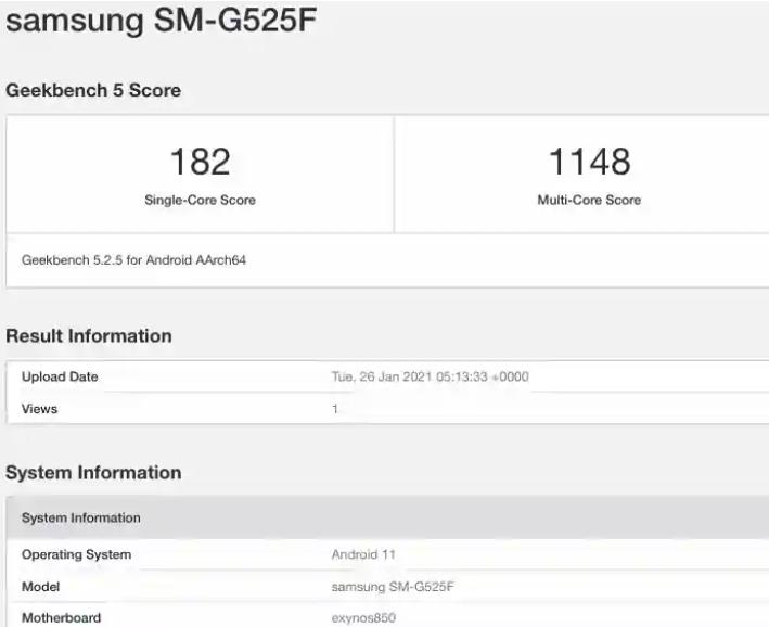 三星XCover 5手机搭载Android 11 OS和八核Exynos 850处理器
