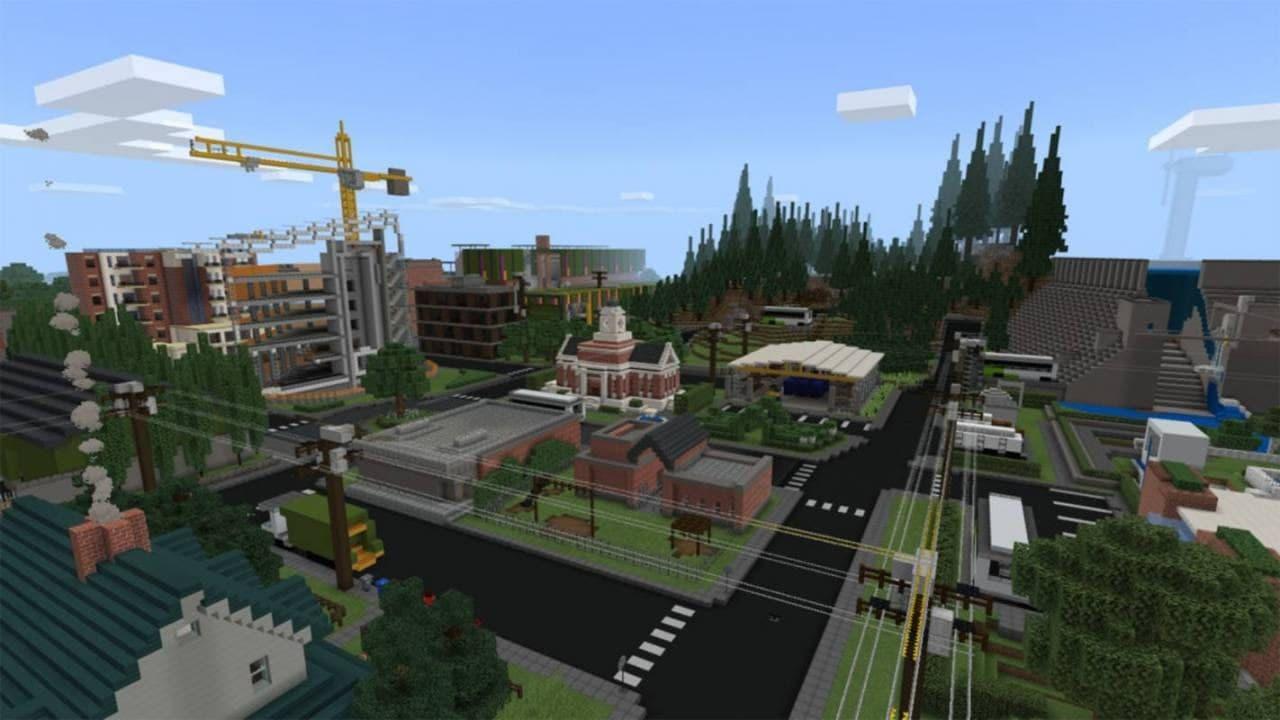 微软最新的可持续发展报告随附免费的Minecraft地图