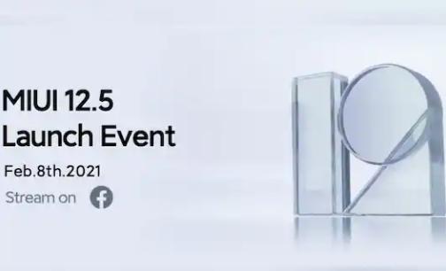 小米将于2月8日在全球推出MIUI 12.5