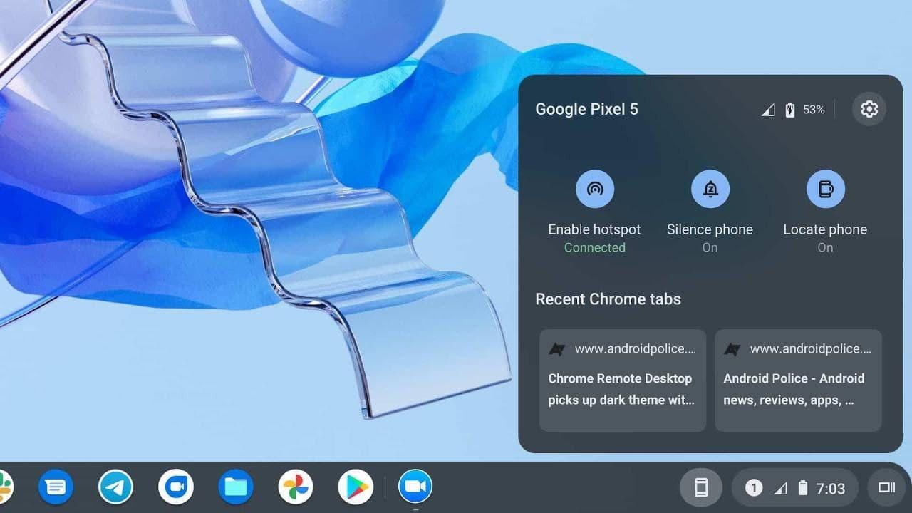 Chrome OS Phone Hub将帮助您远离Android手机