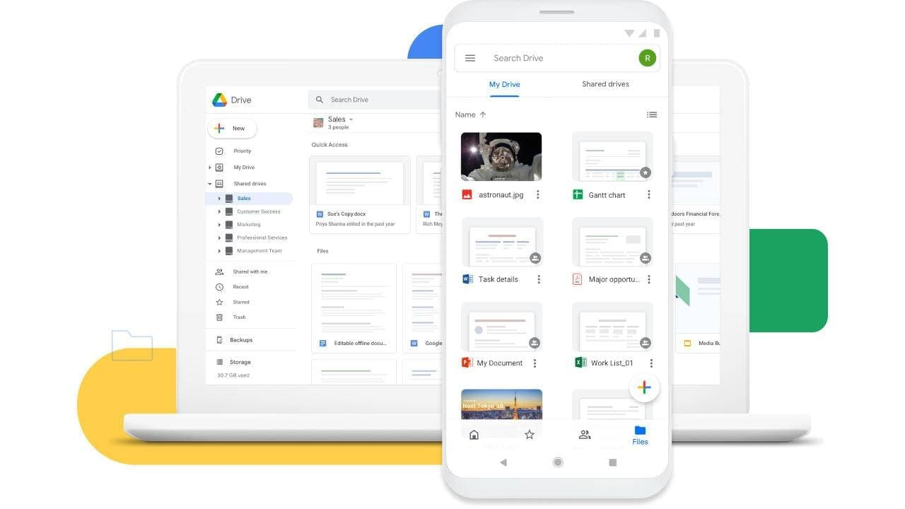 桌面版Google云端硬盘将成为唯一一个可以将其全部统治的应用