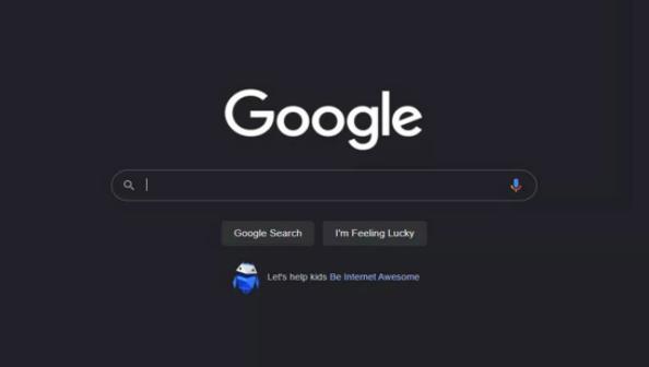 Google搜索将继续测试黑暗模式