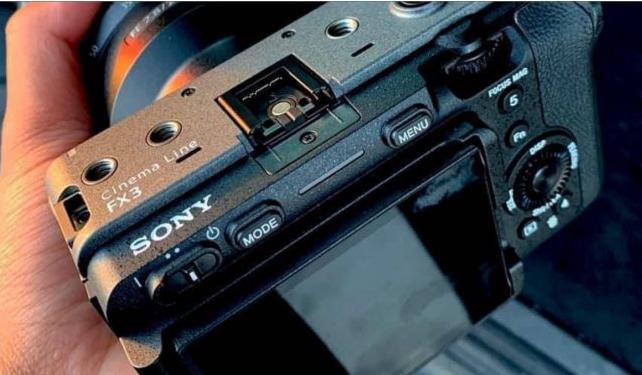 索尼FX3具有与A7S III类似的功能