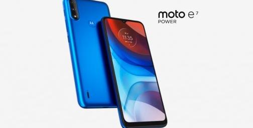 摩托罗拉推出Moto E7 Power 一款全新的入门级手机