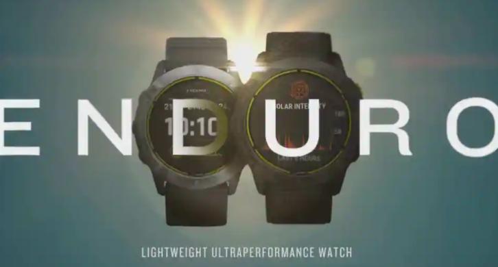 Garmin推出具有80天续航时间的Enduro智能手表