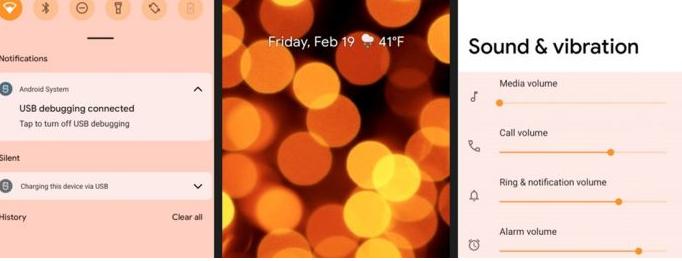 互联网信息:Android 12查看基于墙纸的主题