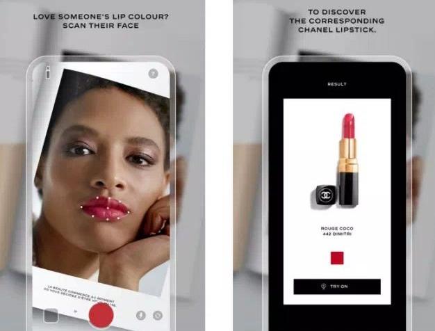 香奈儿Lipscanner将通过人工智能找到色彩