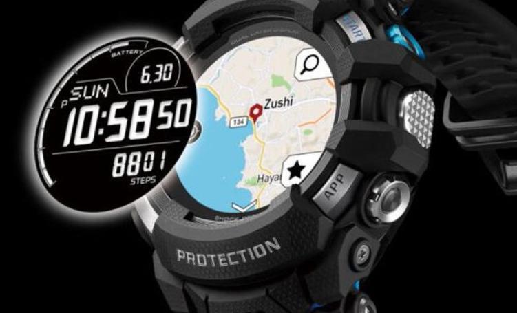 首款搭载卡西欧穿戴OS的G-Shock手表