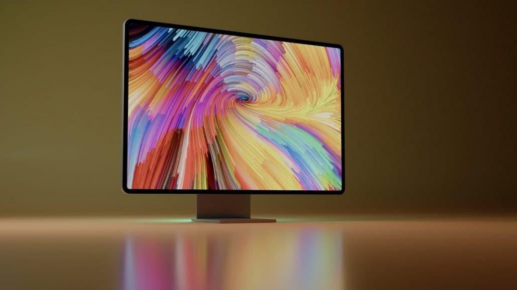 """新的Apple Silicon iMac具有""""真正大""""的显示屏,比当前的27英寸iMac更大"""
