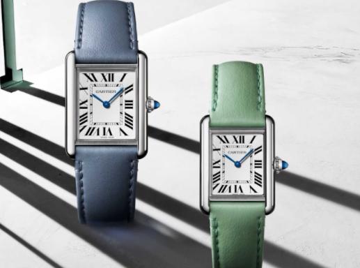 卡地亚(Cartier)现在制造一款太阳能Tank手表