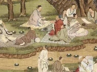 下列哪项活动 ,是我国古代文人喜欢在上巳节做的