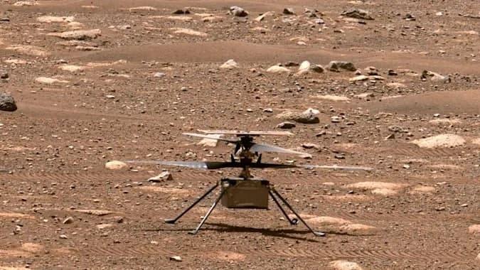 NASA的火星直升飞机需要在飞行测试之前进行软件更新