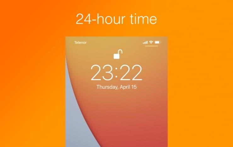 互联网信息:如何在iPhone和iPad上切换到24小时制