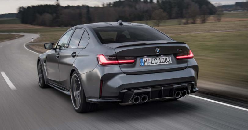 2022年宝马M3和M4竞赛xDrive配备全轮驱动,售价77,895美元
