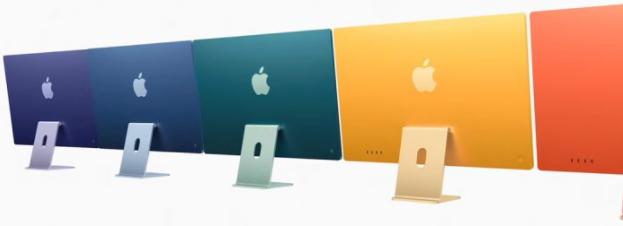 Apple宣布采用M1芯片的全新重新设计的iMac
