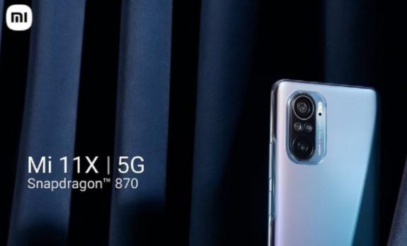 小米Mi 11X Pro与Snapdragon 888处理器一起发布