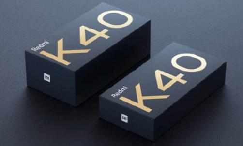 Redmi K40游戏手机具有快速充电功能