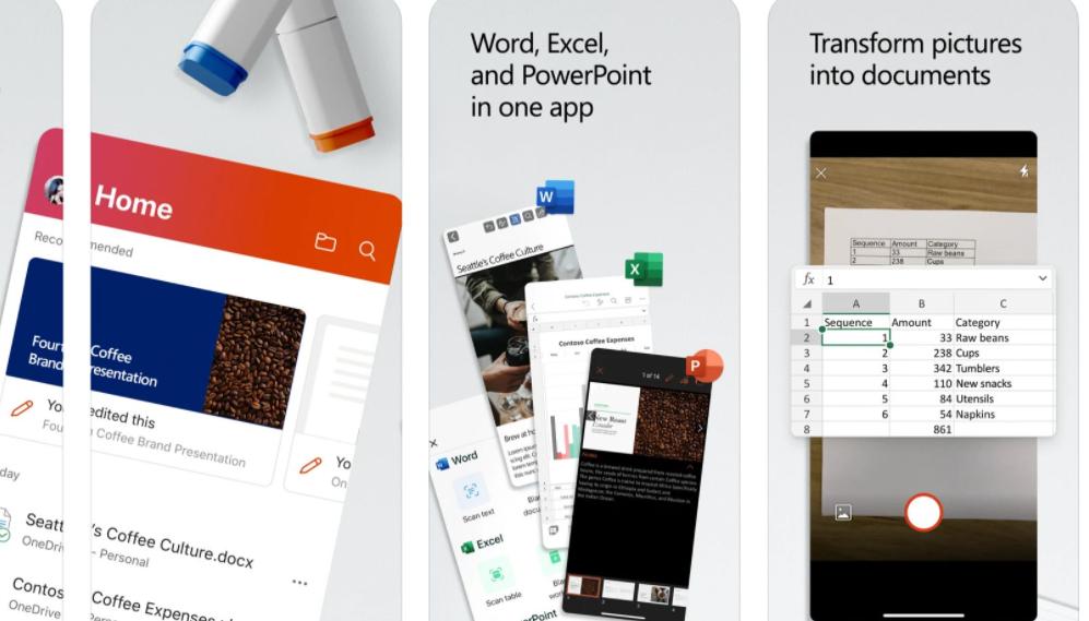 Microsoft Office在iPhone上收到重大更新