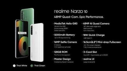 带有5000mAh电池的Realme C20A正式发布,并将很快在孟加拉国发布