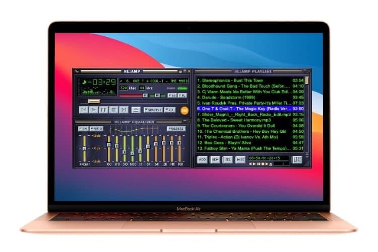 Re: amp是一款支持经典Winamp外观的Mac音乐播放器