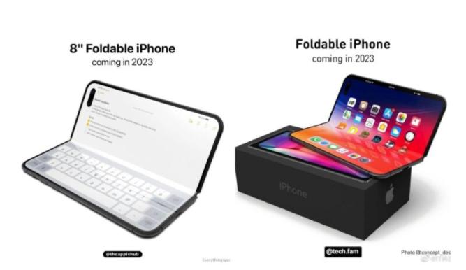 分析师称:可折叠iPhone将配备8英寸屏幕
