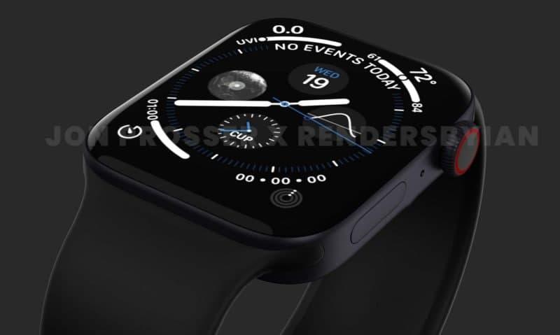 苹果手表系列7可能会带来第一次重大的重新设计。