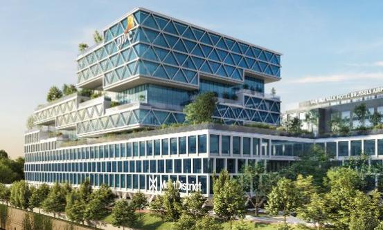 Ghelamco Group以1.317亿欧元的价格出售布鲁塞尔普华永道校区