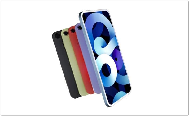 IPod  Touch  leak展示了一个结合了iPhone  12和iPad  Air的设计