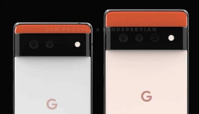 谷歌Pixel 6 Pro和Pixel 6新的泄漏图片