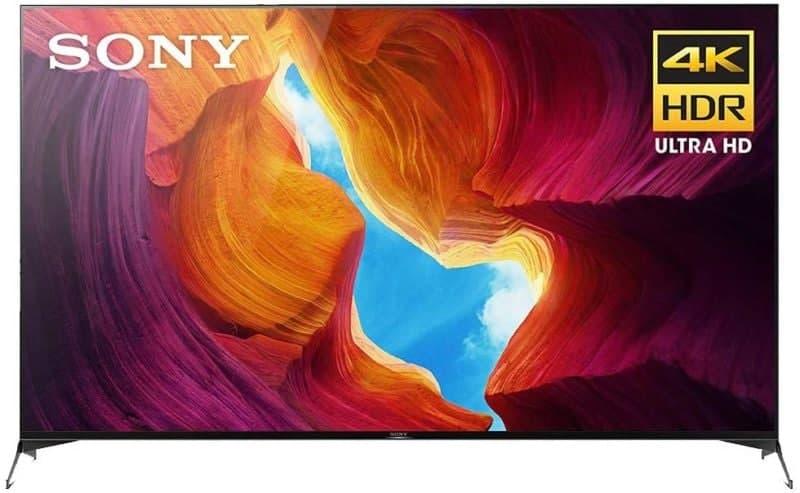 索尼的75英寸X950H  4K智能电视和消防电视棒正在出售
