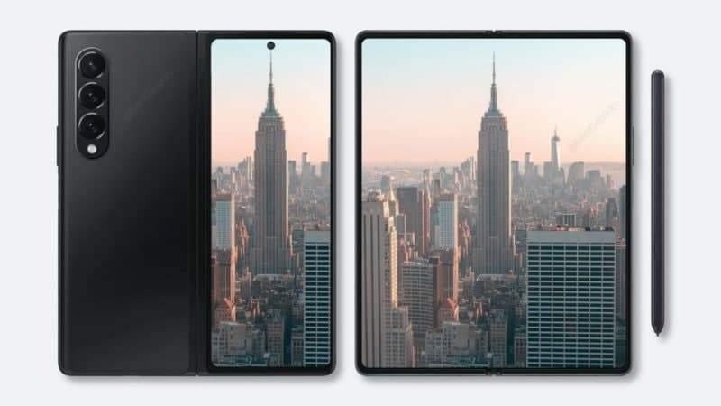 Galaxy  Z Fold 3成像硬件的真正明星将是隐藏在可折叠内部显示屏下的16MP摄像头