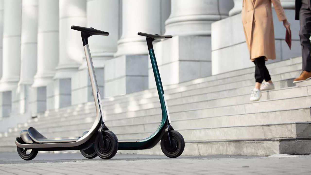 电动滑板车:苏格兰人的电动滑板车看起来像来自未来