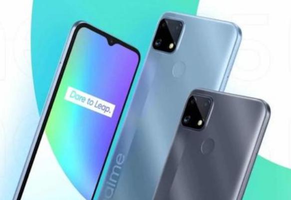 Realme C25s泄漏揭示所有细节