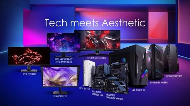 MSI宣布面向游戏玩家和创作者的显示器和电脑