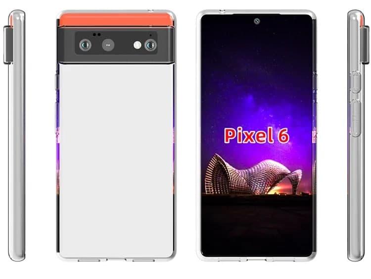Google  Pixel  6和Pixel  6XL保护壳泄露,确认之前的设计