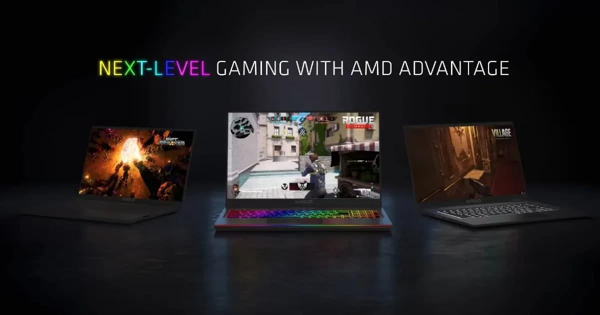 AMD Advantage宣布将为游戏笔记本电脑带来类似英特尔EVO的标准化