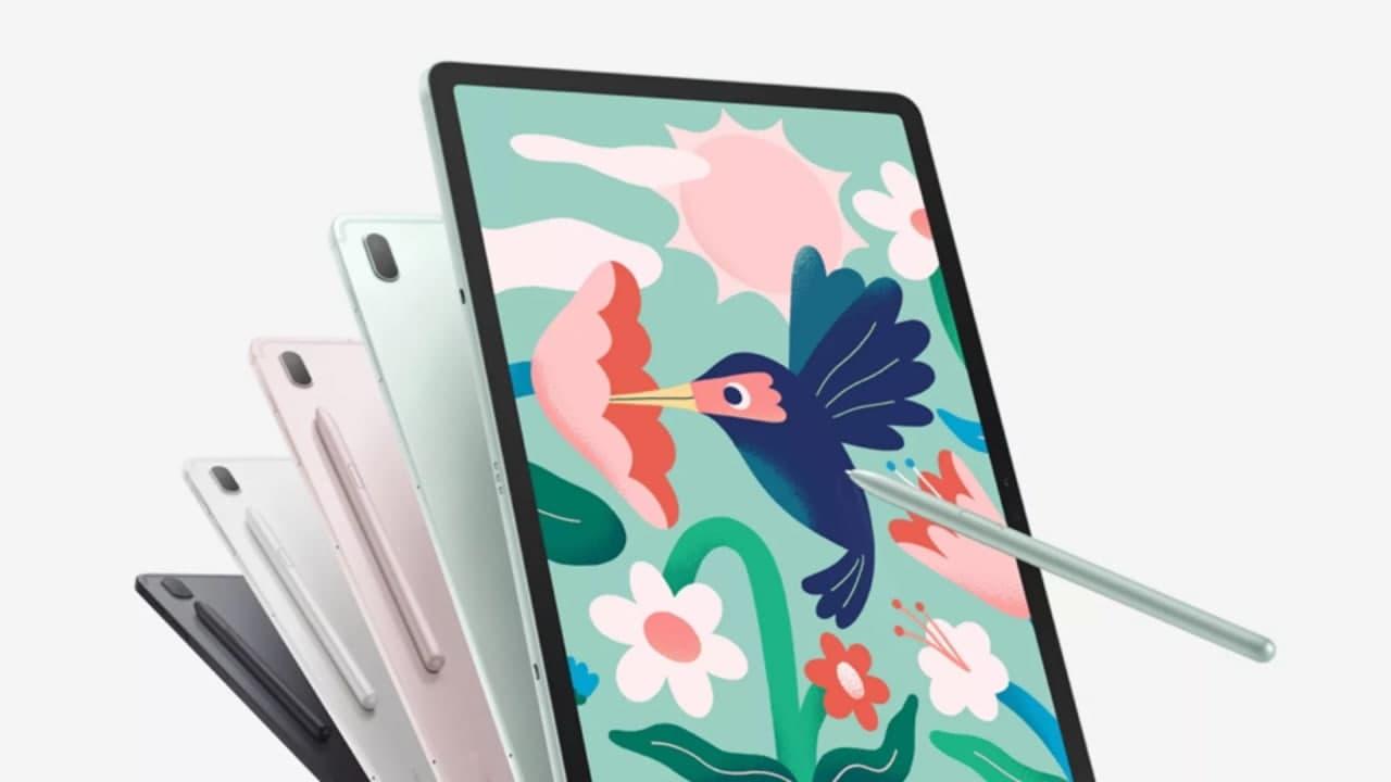 三星 Galaxy Tab S7 FE 和 Galaxy TabA7 Lite