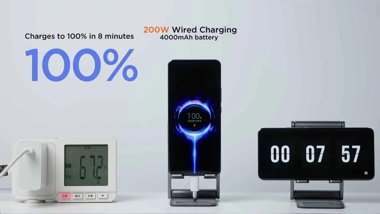 小米的200W充电对电池健康不利