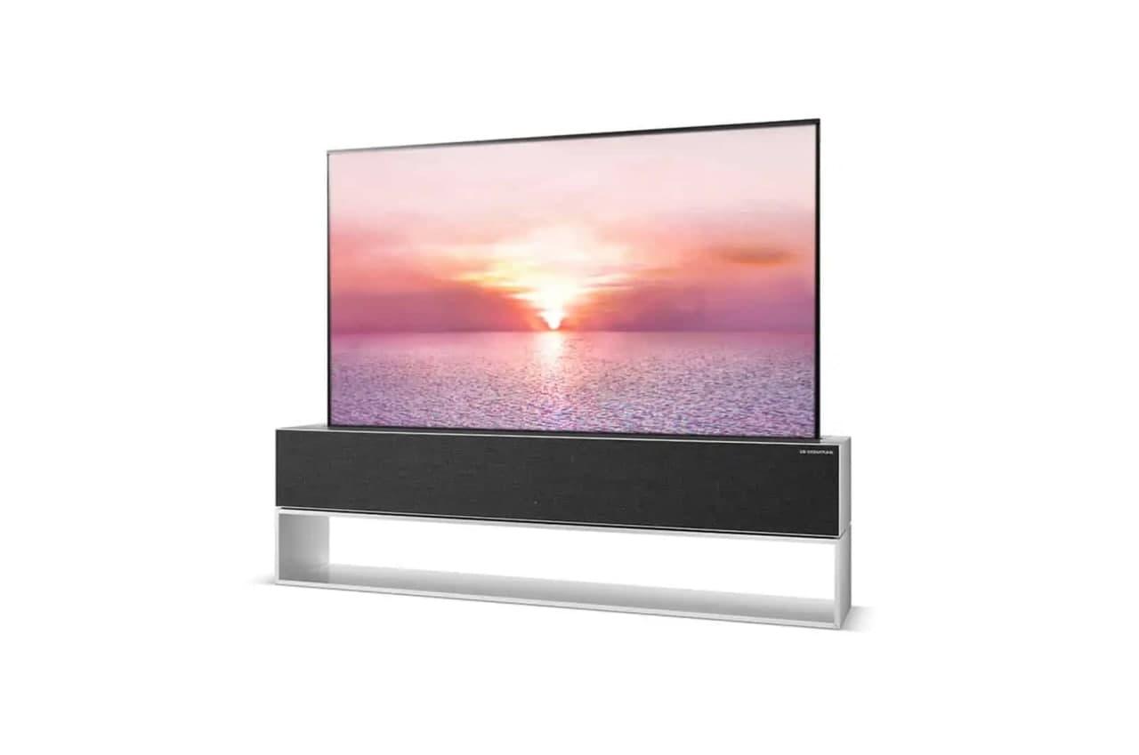 LG可卷曲电视抵达美国,售价高达100,000美元