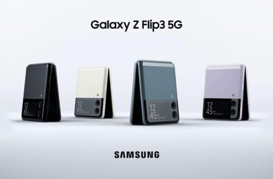 互联网信息:Galaxy Z Flip 3 再次抬头 向我们展示了多种颜色选择