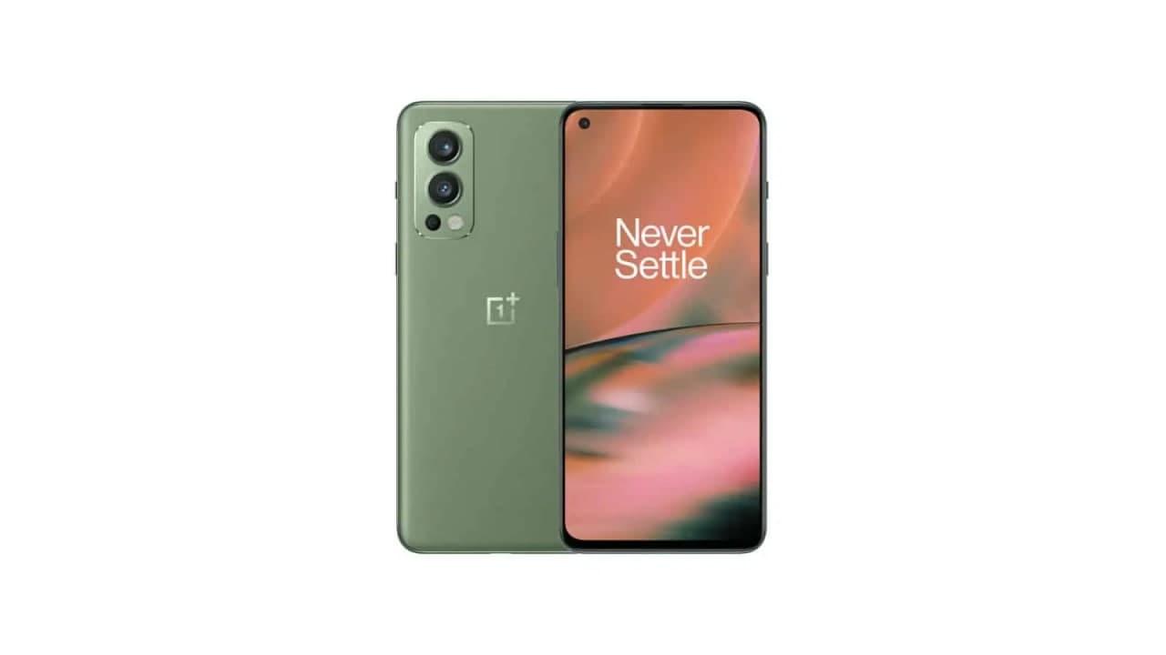 三种新颜色的 OnePlus Nord 2 5G 表面