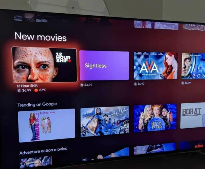 """Google TV 现在可让您从""""继续观看""""行中删除标题"""