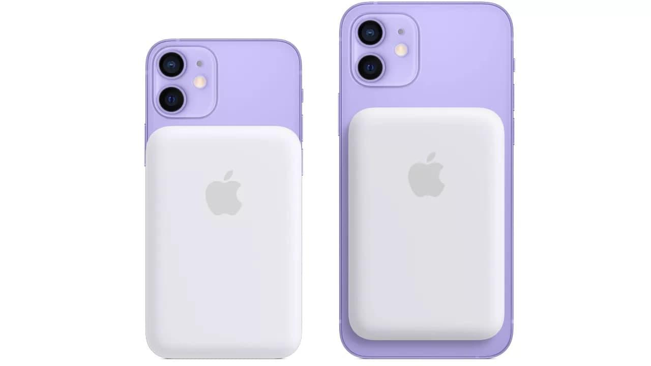 Apple 推出 iPhone MagSafe 电池组,可为 AirPods 充电