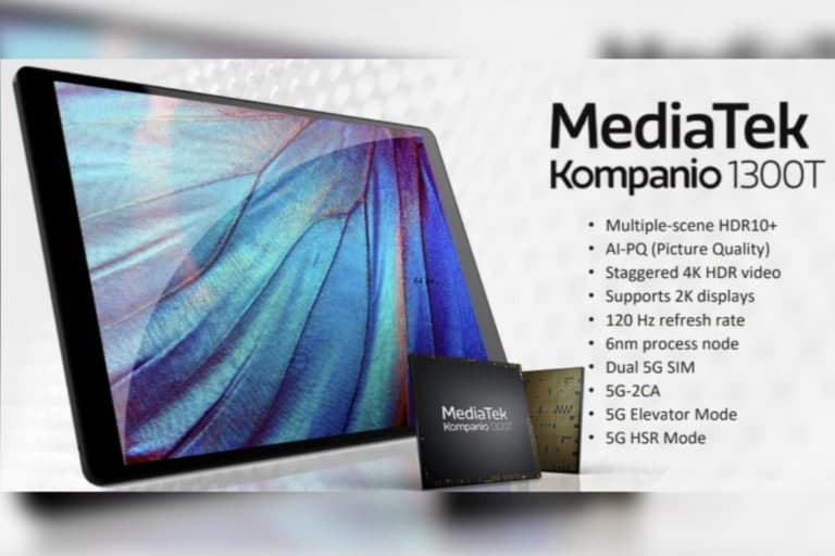 联发科推出专注于高端平板电脑的 Kompanio 1300T 平台