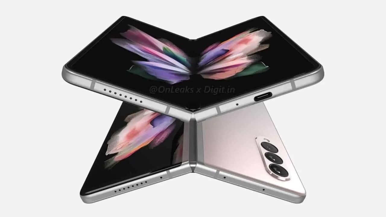 互联网信息:新渲染图展示了 Galaxy Z Fold 3 将如何存储 S Pen