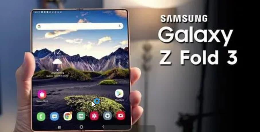 互联网信息:三星 Galaxy Z Fold 3 在官方预告片中被取笑