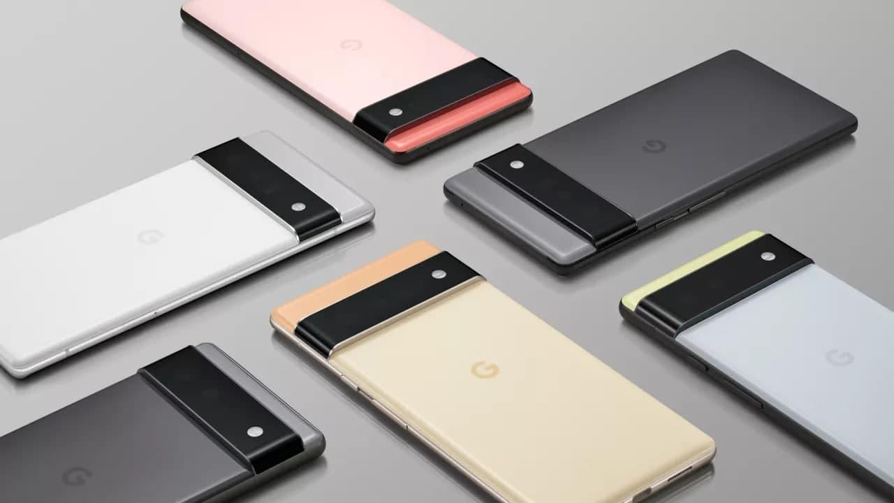 Google Pixel 6 发布定制处理器和全新相机设计