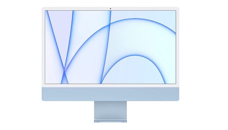 配备 M1 芯片、LG 显示器等的 Apple 24 英寸 iMac 正在发售